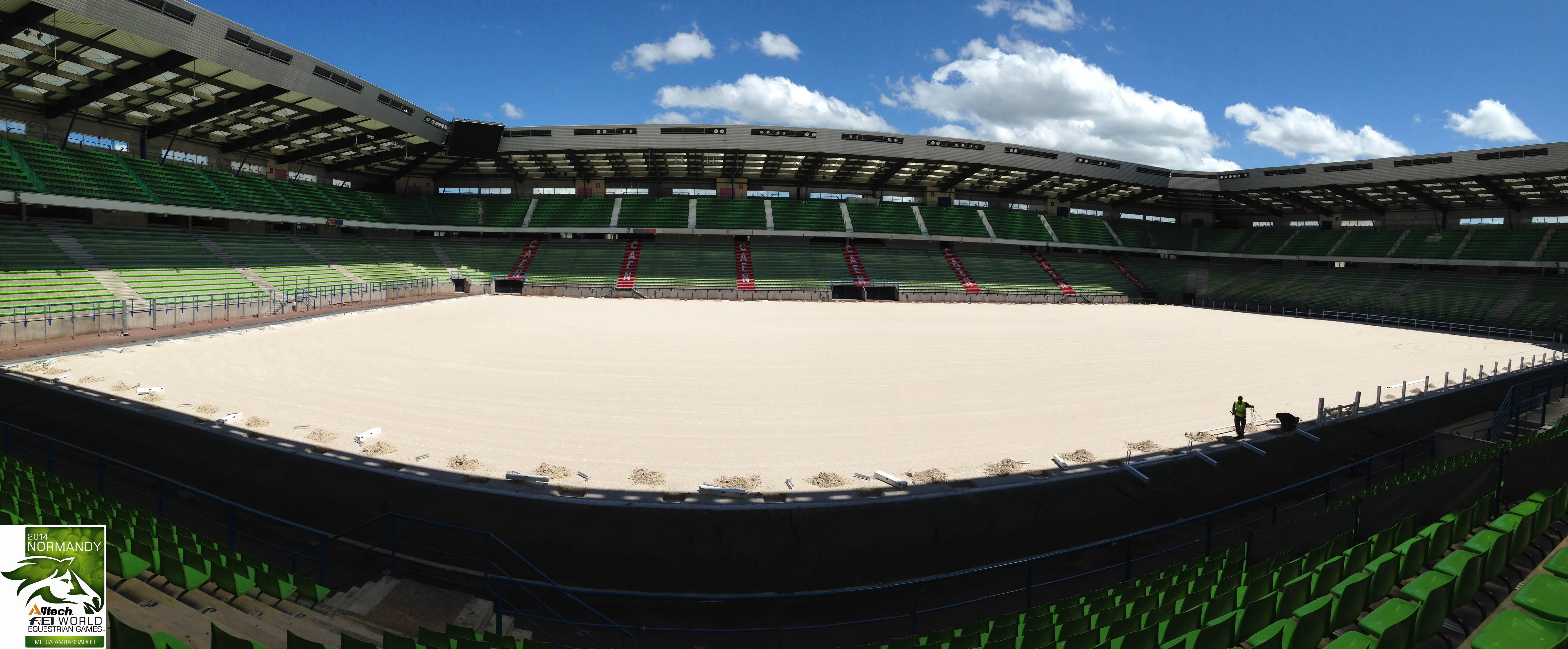 EEF :News :TEST EVENTS FOR THE ALLTECH FEI WORLD EQUESTRIAN GAMES™ 2014 IN NORMANDY