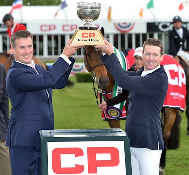 EEF :News :	Victory in $210,000 CP Grand Prix Goes to McLain Ward and Rothchild